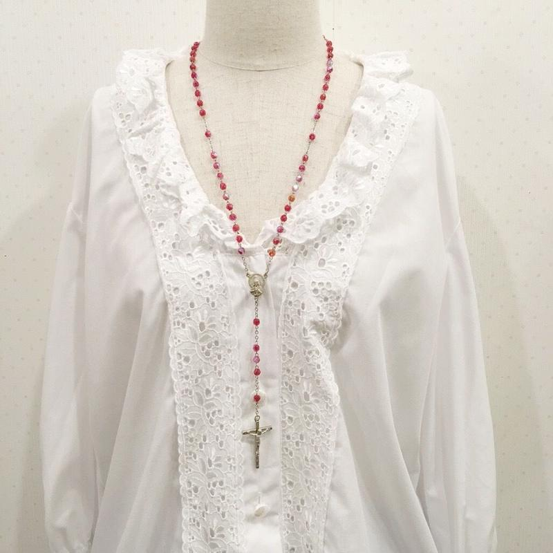 used cross necklace