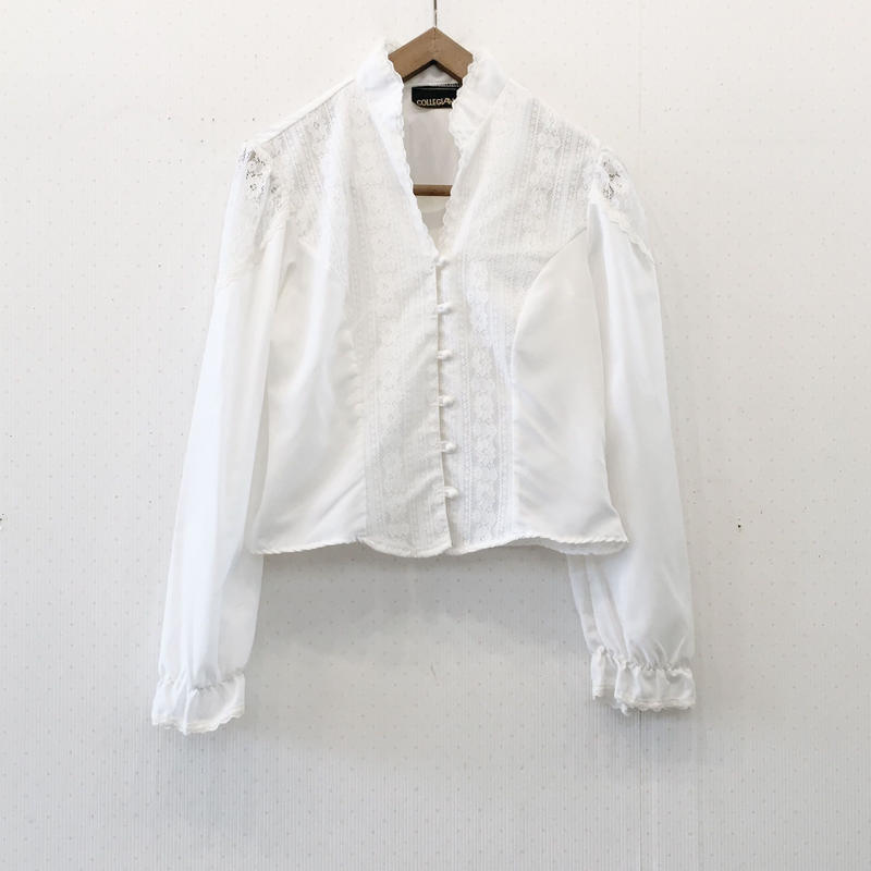 used 70s blouse