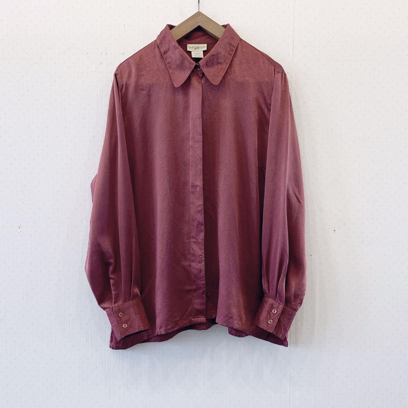 used polyester blouse