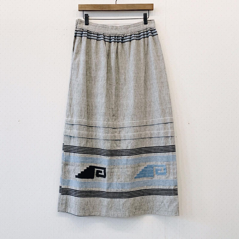 used native skirt