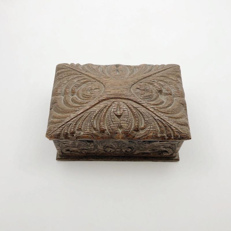 used wood box