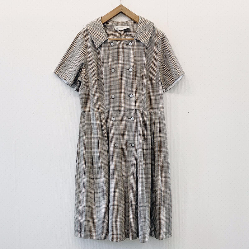 used check dress