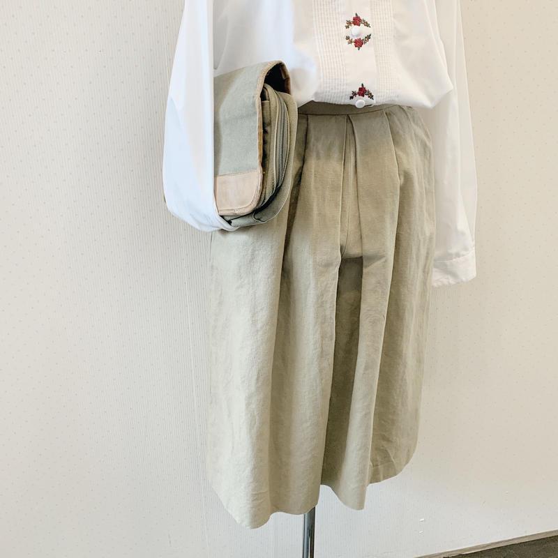 used culotte skirt