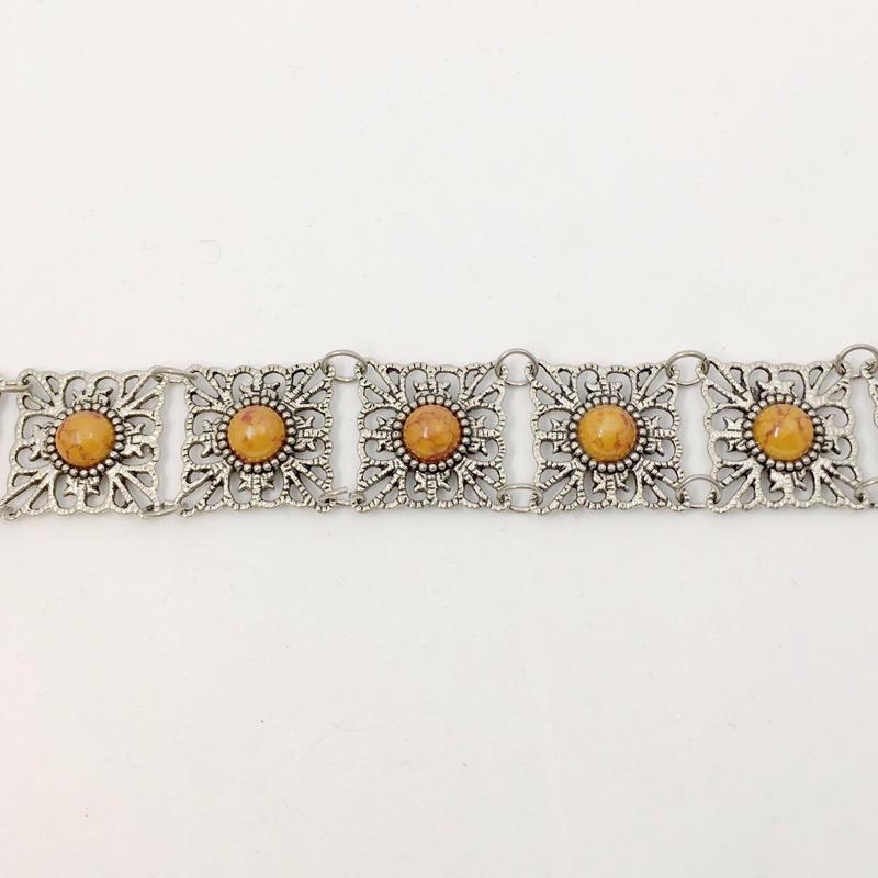 used silver bracelet