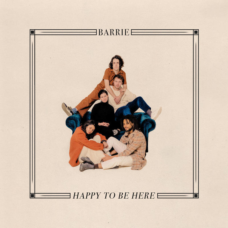 Barrie – Happy To Be Here (LP)