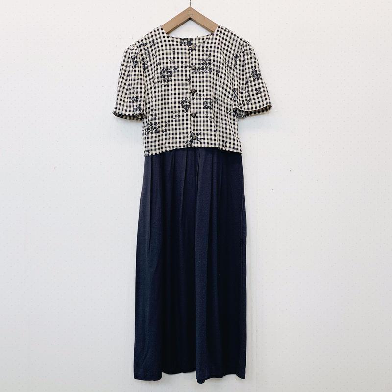 used check dress