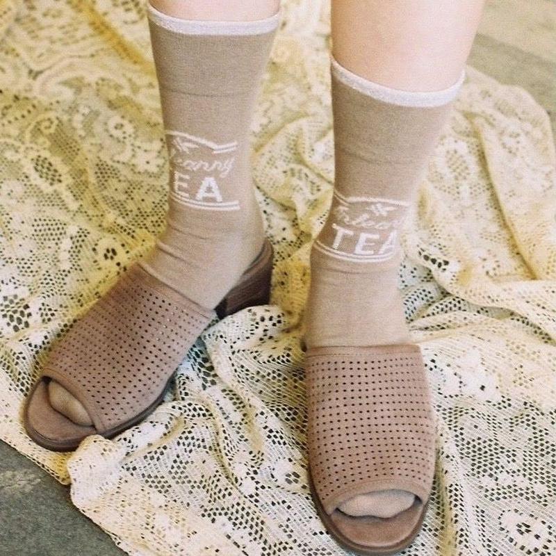 Anteanny socks (ginger)