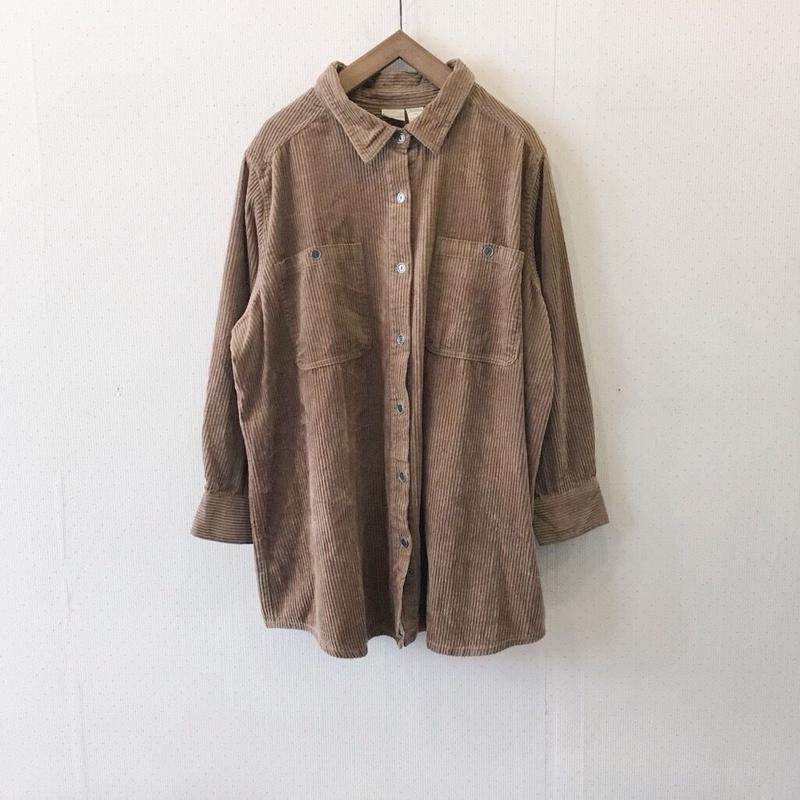 used corduroy shirt