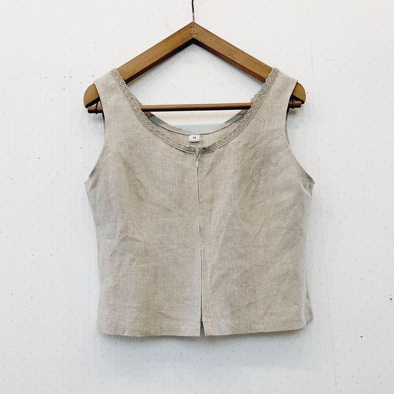 used linen jacket