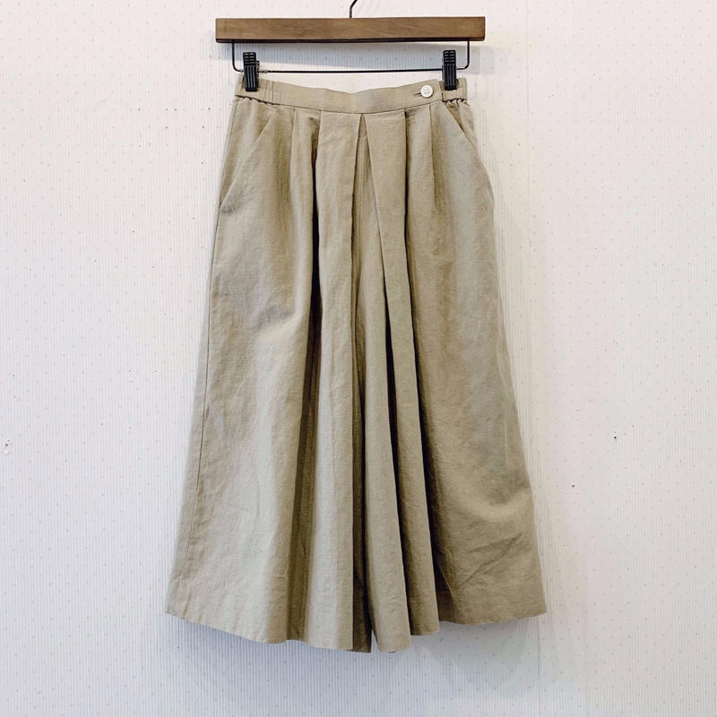 used culotte skirt