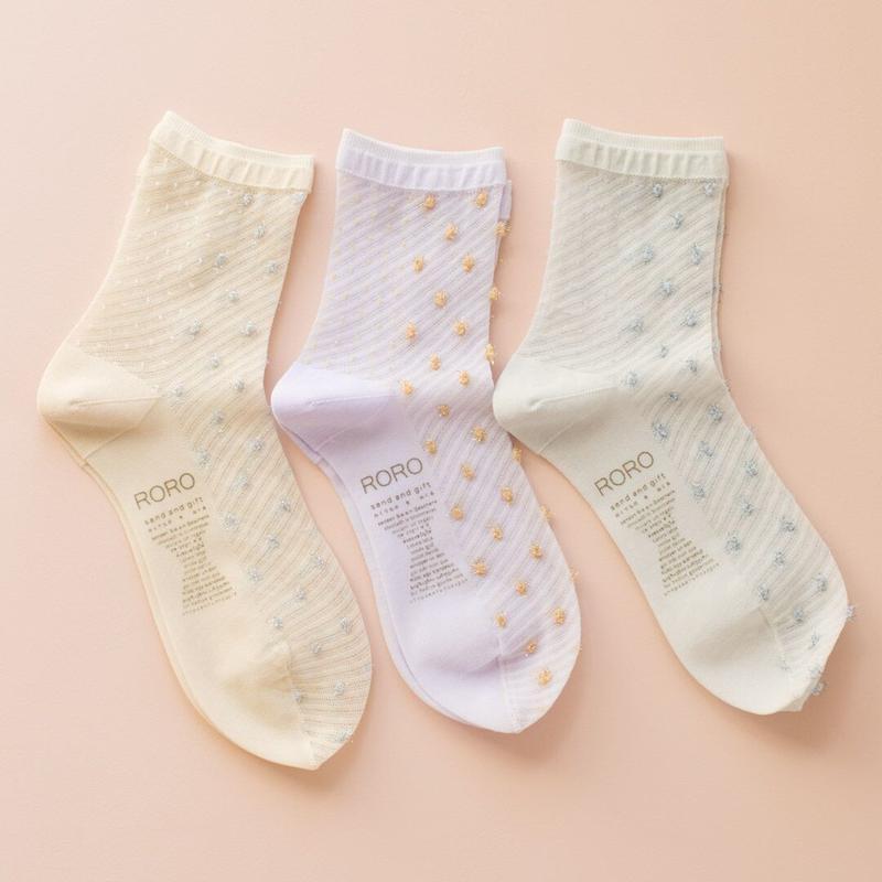 roro 雫 socks