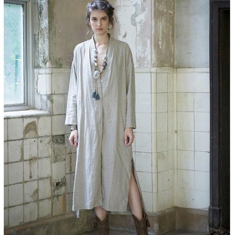 リネン・コートドレス #1972910