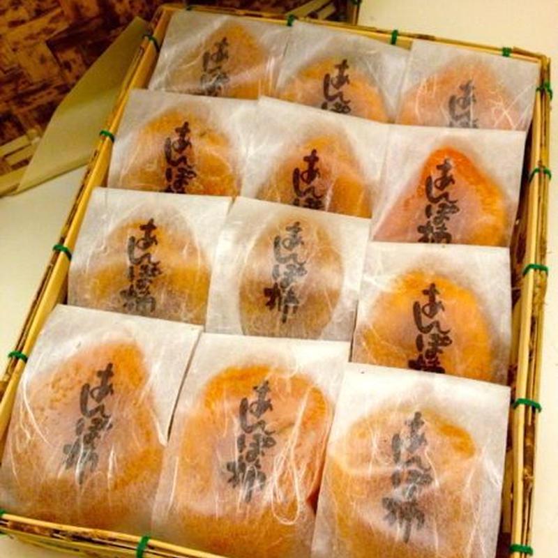 和歌山【あんぽ柿福こい柿】(約60g×12)竹かご入