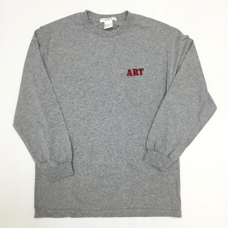 """ART  /  ART """"IT""""  LOGO-L/S TEE"""