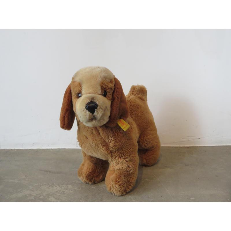 Steiff  ( シュタイフ )  社製  vintage west Germany dog