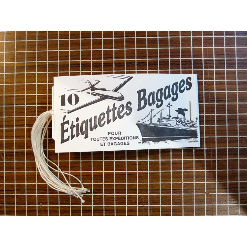 Étiquettes Bagages