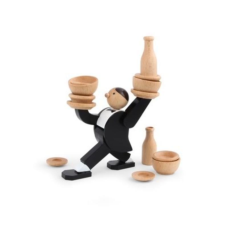 ドントティップザウェイタースタッキングゲーム/Don't Tip The Waiter Stacking Game