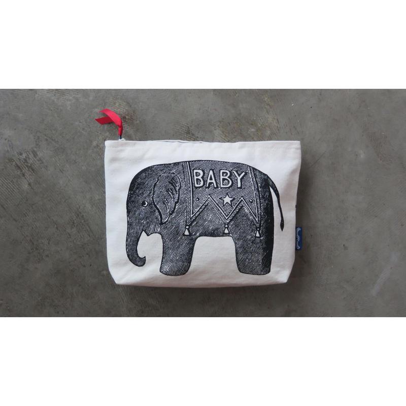 """Chase & Wonder washing bag  """" Baby elephant"""""""