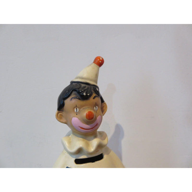 vintage Pierrot money bank