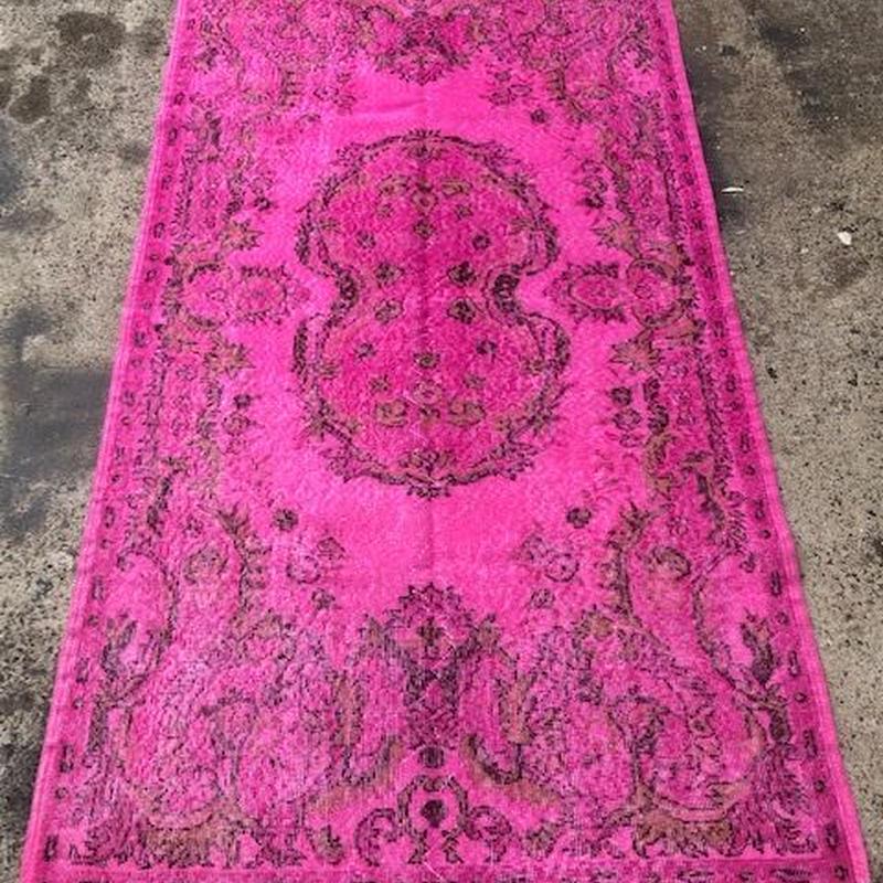 ヴィンテージラグ 絨毯 トルコ アップサイクルラグ BOHEMIAN EGOTRIPtr-002