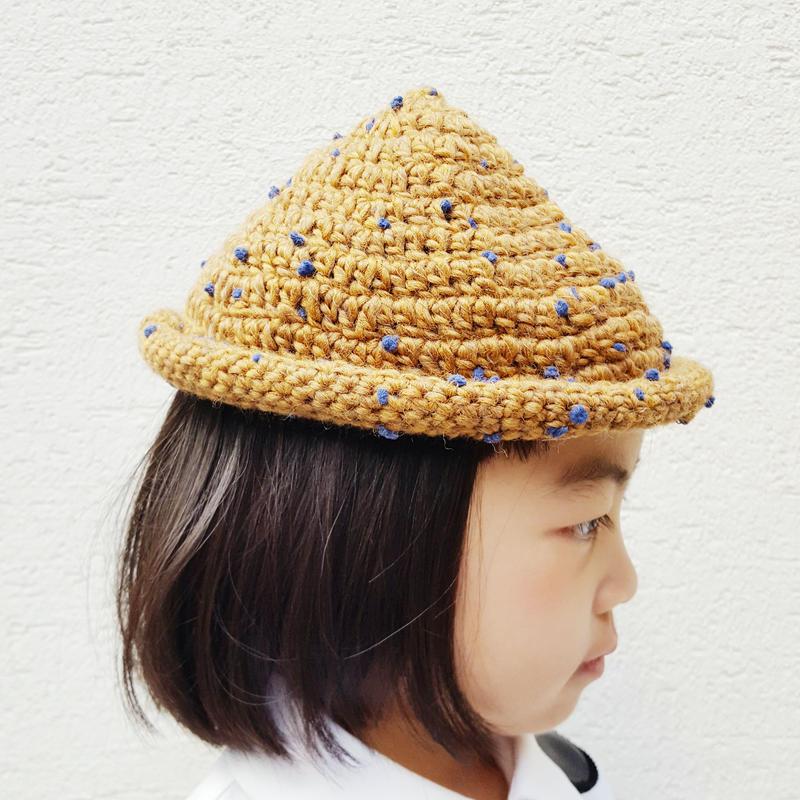 とんがり帽子(こども)CAMEL