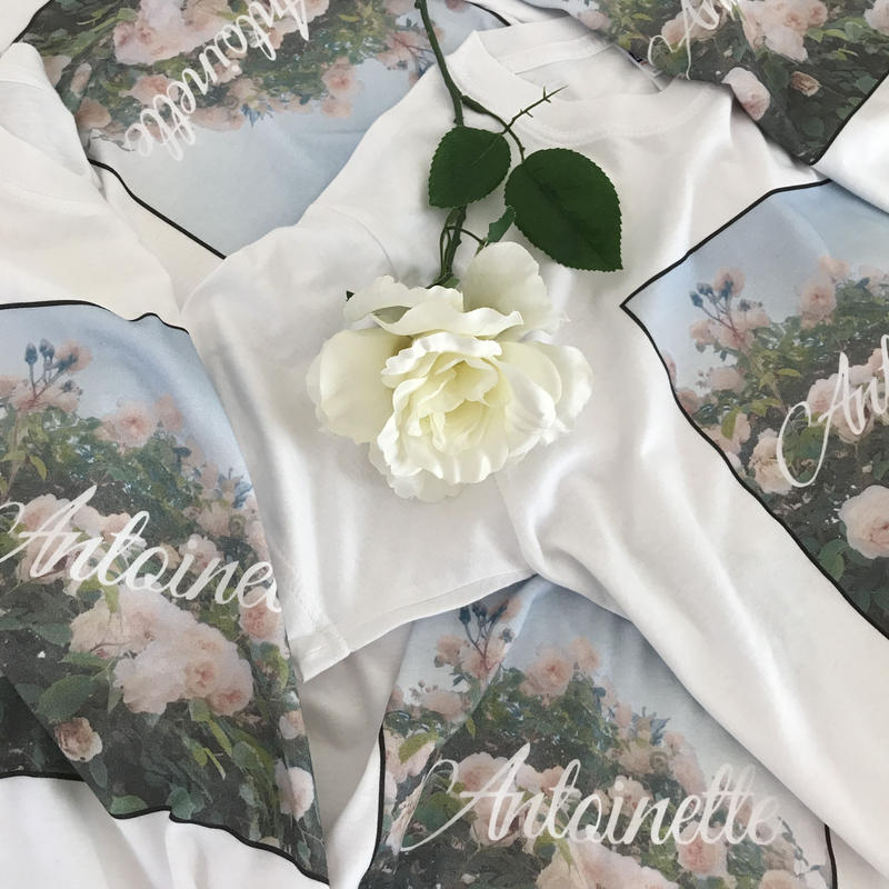 original rose photo T-shirt