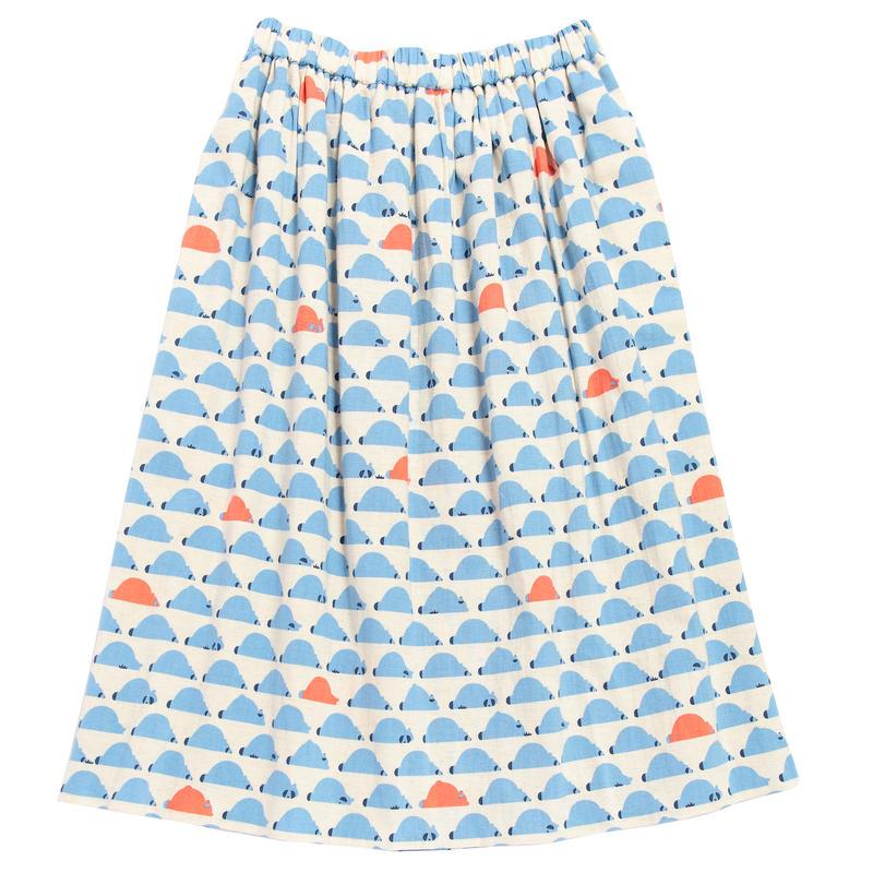 ロングスカート たぬき