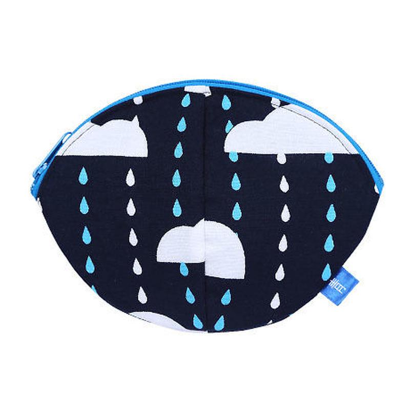 寝待月ポーチ にわか雨