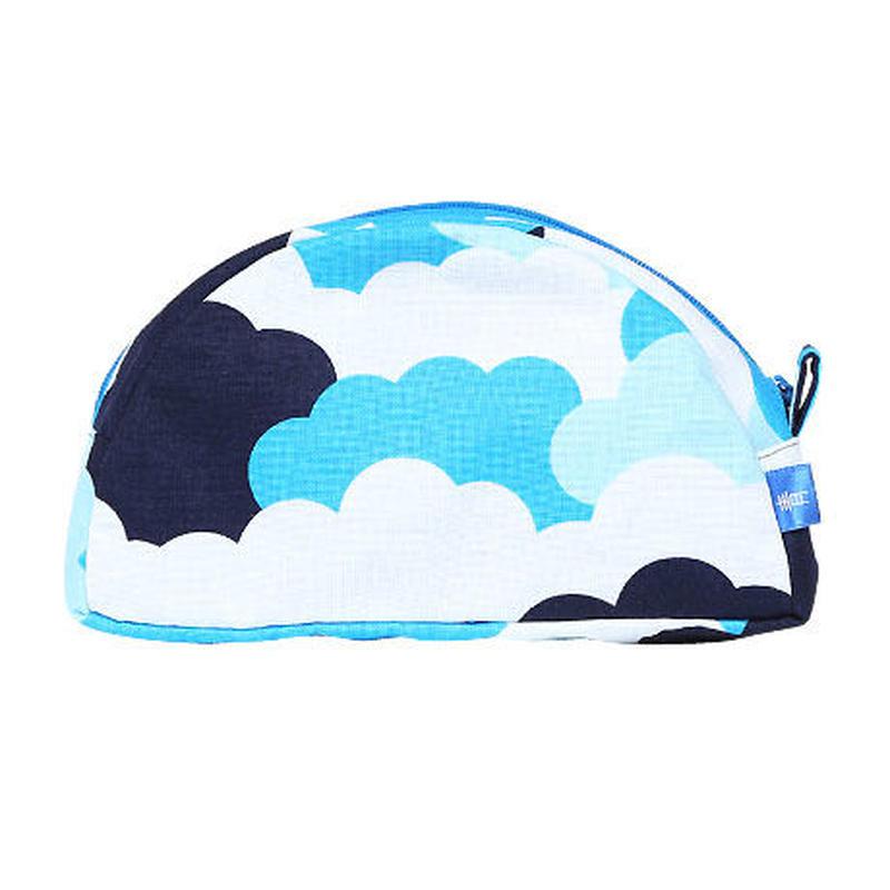 半月ポーチ 雲