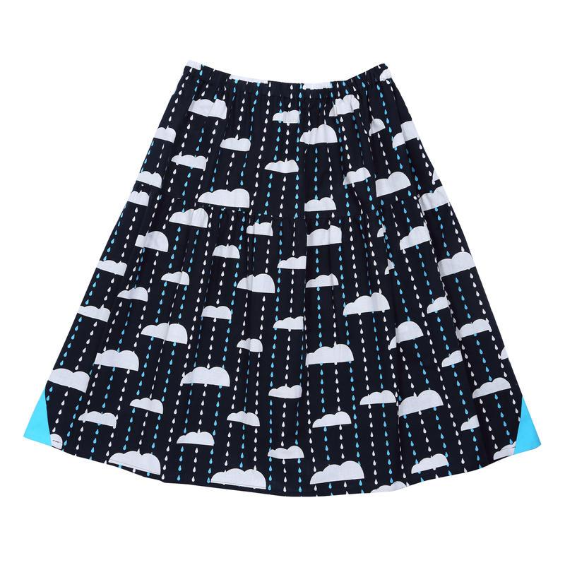 ギャザースカート にわか雨
