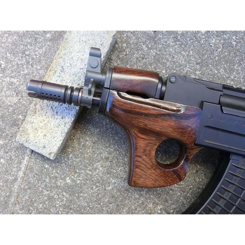 受注 AK47βスペツナズ・AK47HC用サムホールハンドガード製作(丸型)