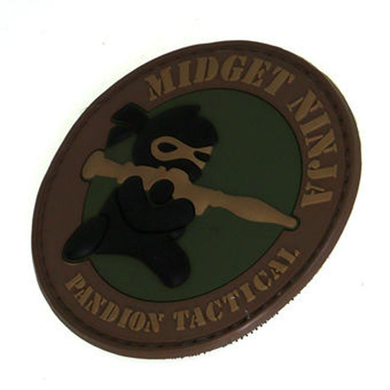 MIDGET NINJA RPG PVCベルクロワッペン