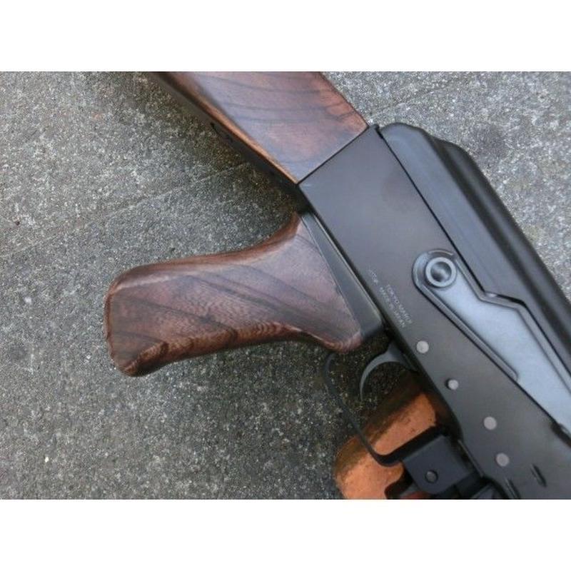 受注 マルイ次世代AK47シリーズ・スタンダードAK47シリーズ用 ノーマルウッドグリップ製作