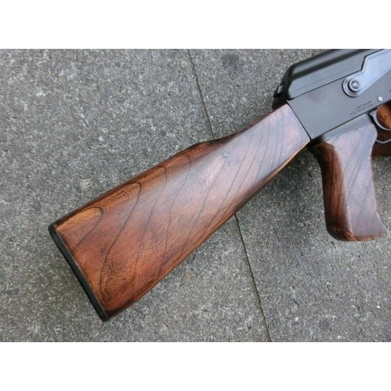受注 マルイ次世代AK47用ウッドストック製作