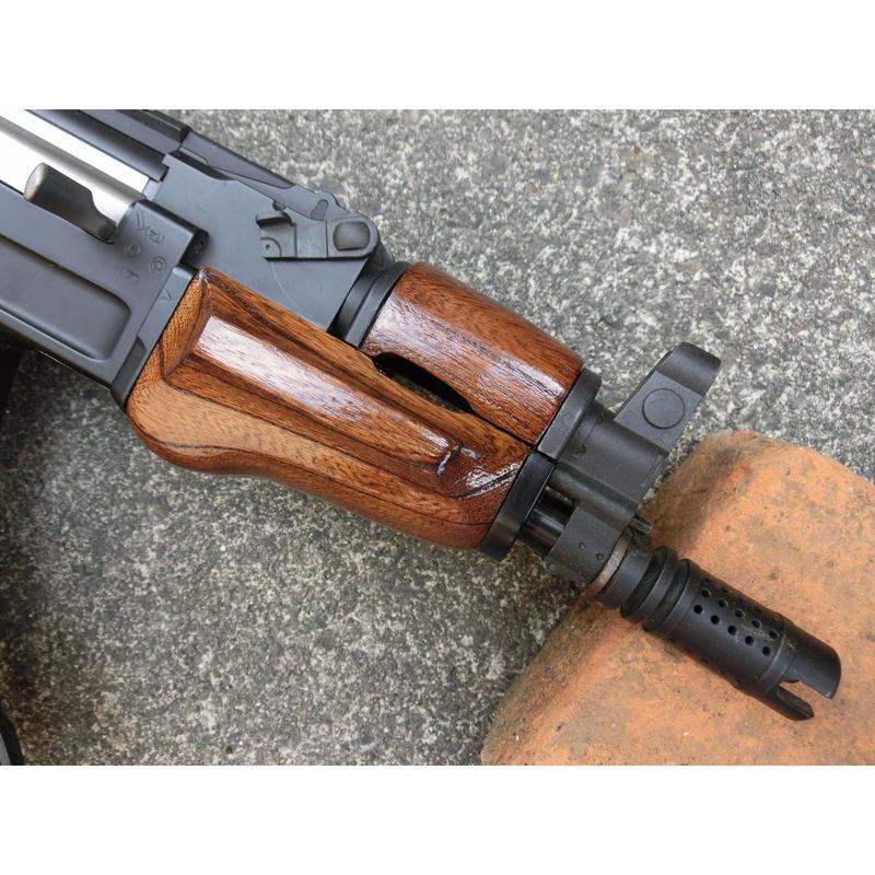 受注 AK47βスペツナズ・AK47HC用ノーマルウッドハンドガード製作