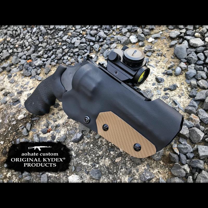 タナカ S&W M327 M&P R8 5インチ用Kydex®ホルスター CB