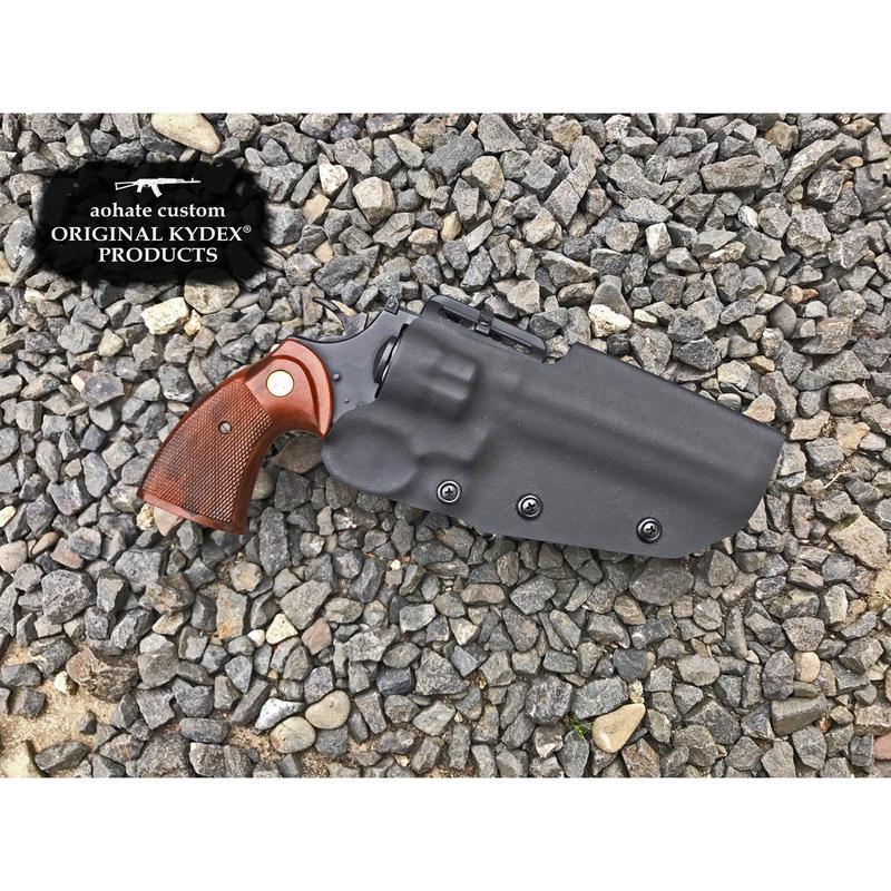 マルイ コルトパイソン6インチ用Kydex®ホルスター BK