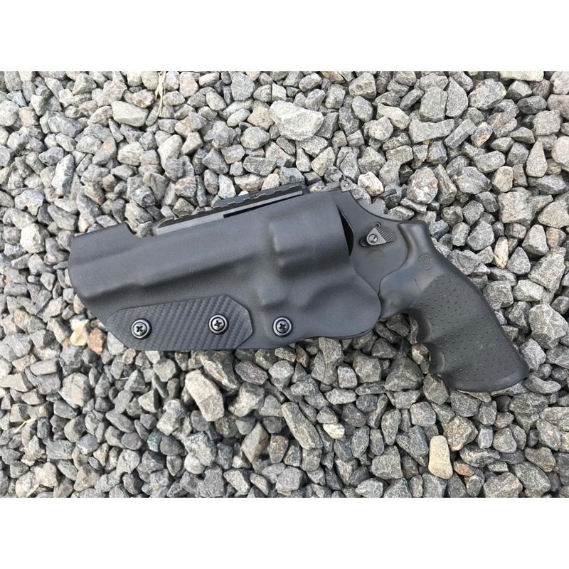タナカ S&W M327 M&P R8 5インチ 左用Kydex®ホルスター BK