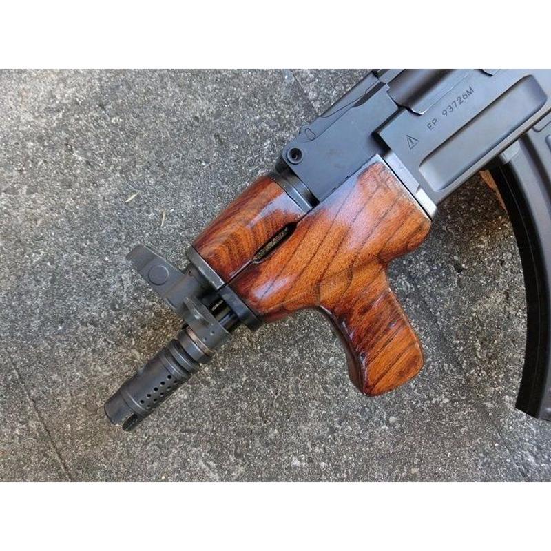 受注 AK47βスペツナズ・AK47HC用AIMSタイプウッドハンドガード製作