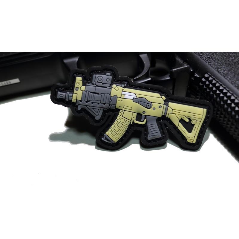 Tactical AK PVCベルクロワッペン