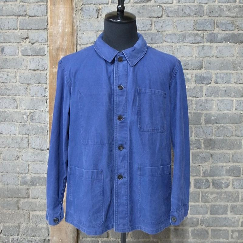 "mid 20th c. ""Saint James"" french marine work jacket"