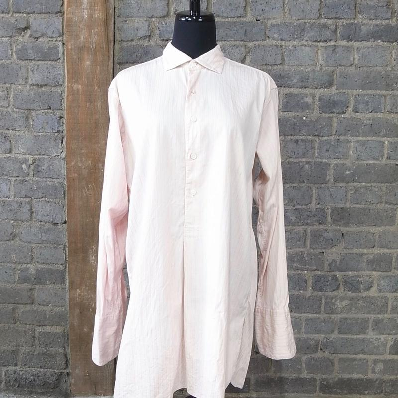 "mid 20th c. german vintage victorian shirts ""soft pink"""