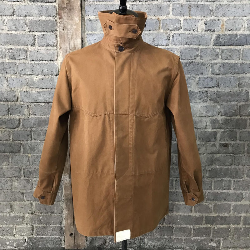 """mid 20th c. french railroader's cotton duck jacket  """"dead stock"""""""