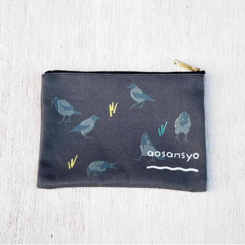 Greycrow pouch S (black)