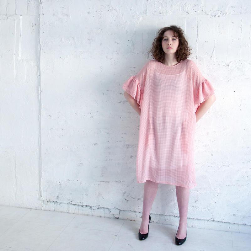 SOWA   ギンガムチェックドレス