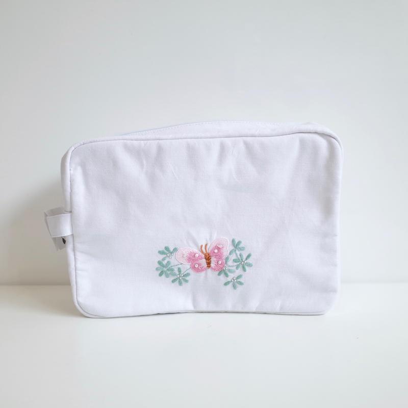 acco | 刺繍ポーチ