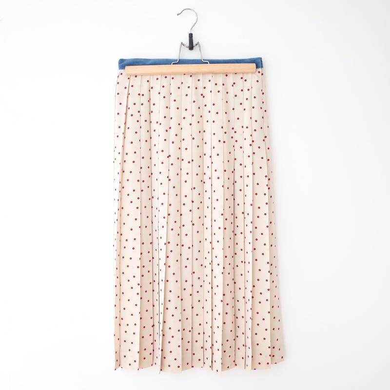 SOWA |  「Madam Mysterious」ドットプリーツスカート