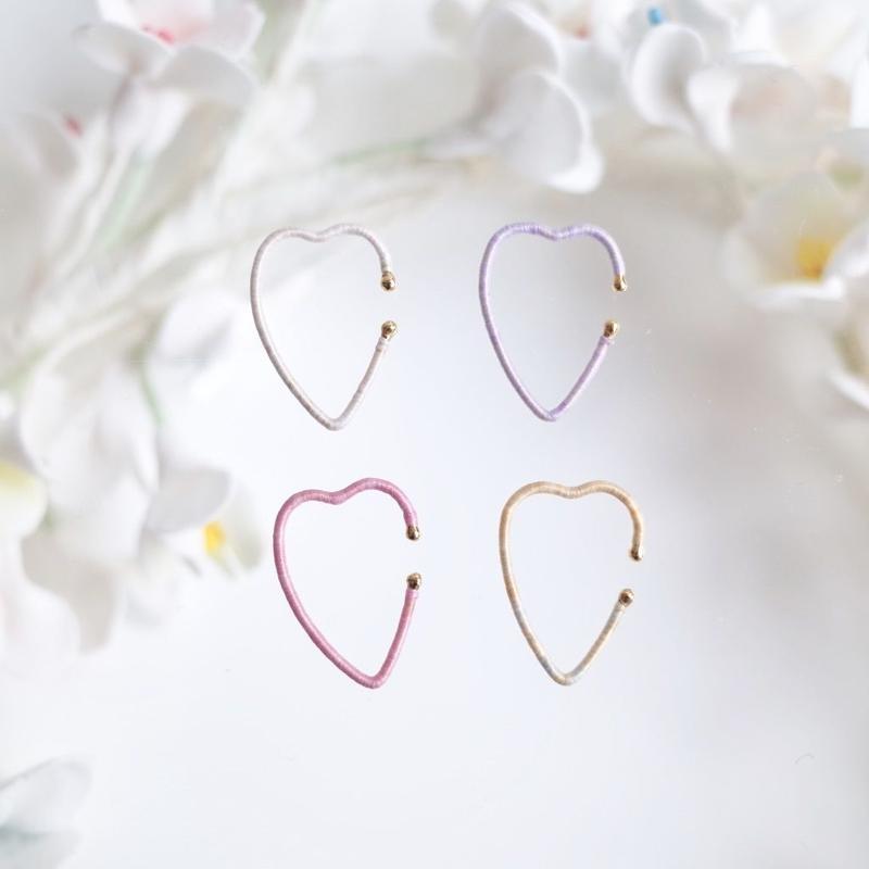 KIKKOU |  Heart earcuff
