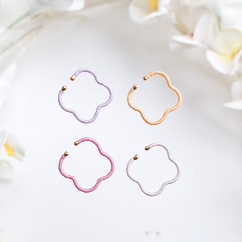 KIKKOU |  flower earcuff