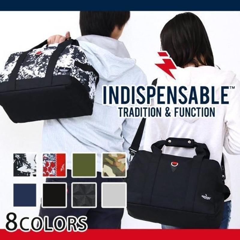 【INDISPENSABLE】2WAY ボストンバッグ
